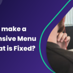 How to Make a Responsive Menu Bar That is Fixed in 4 Steps - banner